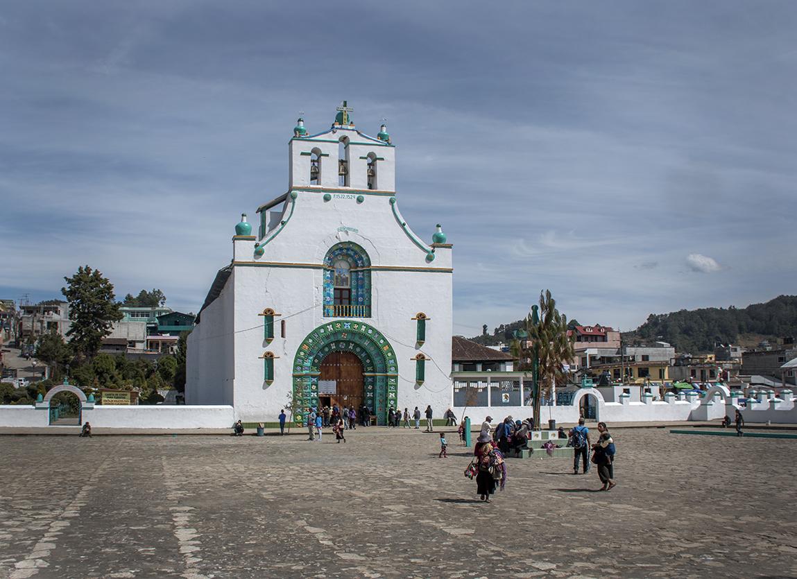 """""""The Church"""" in San Juan Chamula"""