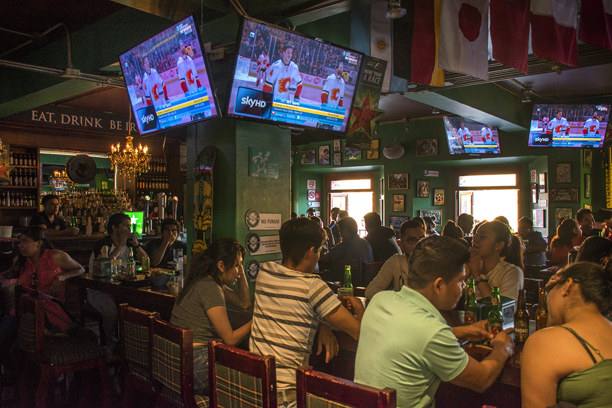 McCarthy's Irish Pub...closest thing to an American Sports bar in Oaxaca.