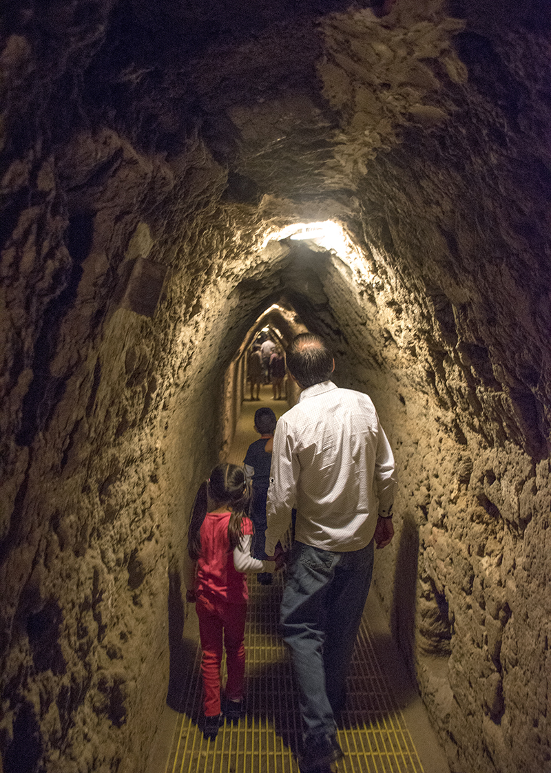 Tunnel under the Great Pyramid of Cholula
